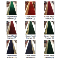 Harga karpet masjid tebal Kualitas Premium
